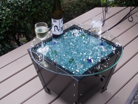Fire Pit Covers, Glass Fireplace, Glass Fireglass, Glass and Ice on Fire,  AmazingGlassFlames.com - Fire Pit Covers, Glass Fireplace, Glass Fireglass, Glass And Ice On