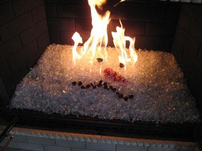 Fire Glass Aquatic Glassel Fireplace Design Fireplace Fire Pit Glass Fire