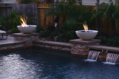 The Fire Bowls in the photo are our Simplicity Fire Bowls they ...
