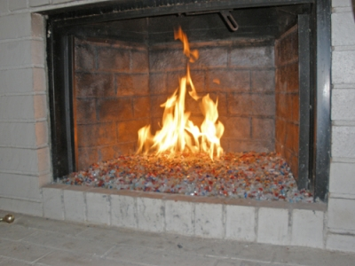 How Not To Do It Fireplace Glass Fire Glass Fire P