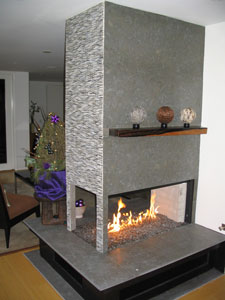 Fireplace And Fire Pit Pictures With Glass Amazingglassflames Com