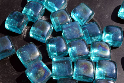 perwinkle glass cubes 2